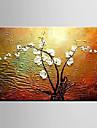 Pictat manual Peisaj Natură moartă Floral/BotanicModern Un Panou Canava Hang-pictate pictură în ulei For Pagina de decorare