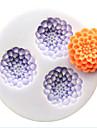 bakeware formă de floare de silicon matrite de copt pentru tort fondantă bomboane de ciocolata (culori aleatorii)