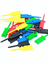 diy pc-test klipp / klämma set - flerfärgad (5x 5st)