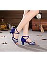 Burtă/Latin/Samba - Pantofi de dans ( Argintiu/Auriu ) - Non personalizabile - Pentru femei