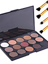 15 Colors Eyeshadow Palette / Powders / Makeup Brushes Eye Daily Makeup / Halloween Makeup / Party Makeup Daily 1160 Cosmetic
