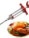 carne aroma sosul injector seringă sos de condimente gadget ac curcan gratar (culoare aleatorii)