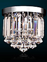 Candelabre Iluminare verticală Galvanizat Cristal Cristal, Stil Minimalist, LED 110-120V / 220-240V Alb Bec Inclus / LED Integrat
