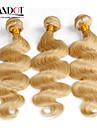 top 7a eau de Javel blond 613 extension de cheveux vierge de cheveux vingin brésilien vague de corps brésilienne de cheveux humains