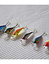 6 pcs Poissons nageur/Leurre dur Fretin Kits de leurre leurres de pêche Kits de leurre Poissons nageur/Leurre dur Fretin g / Once, 65mm mm