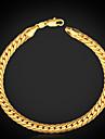Bărbați Brățări cu Lanț & Legături Bratari Vintage Brățară La modă Clasic Personalizat costum de bijuterii Placat cu platină Placat Auriu