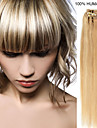20inch 7st / set 70g clip-in hår remy människohår förlängningar 27 färger för kvinnor skönhet