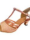 Latin/Modern/Salsa/Încălțăminte Standard - Pantofi de dans (Multicolor Pentru femei