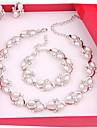 Pentru femei Altele Set bijuterii Σκουλαρίκια / Coliere / Brățări - Regulat Pentru Nuntă / Petrecere / Ocazie specială