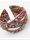 Brățări Bantă Design Unic La modă Bohemia Stil Ajustabile Ștrasuri Deschis costum de bijuterii Bijuterii Bijuterii Pentru Petrecere