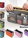 dammode tillfälligt multifunktionell mesh kosmetiska makeup väska lagring hänger arrangör (7 färgar väljer)