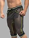 Bărbați Plasă Super Sexy Long Johns Dungi Plasă
