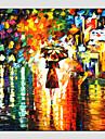 Pictat manual Peisaj Pătrat, Modern Stil European Hang-pictate pictură în ulei Pagina de decorare Un Panou