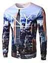Homme Basique Sweatshirt Imprime