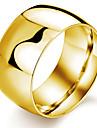 Bărbați Band Ring Oțel titan Placat Auriu Σταυρός Costum de bijuterii Nuntă Petrecere Zilnic Casual Sport