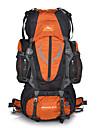 85L Ryggsäckar / ryggsäck - Multifunktionell Camping, Klättring Mörkblå, Röd, Grön