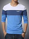 Bărbați Mărime Plus Size Tricou Sport Mată Bloc Culoare Bumbac