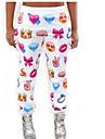 Pentru femei Subțire Larg Blugi Pantaloni - Imprimeu