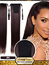 22 Zoll # 8 # 12 # 16 # 27 # 33 Gerade Pferdeschwanz Synthetik Haarstueck Haar-Verlaengerung