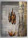 HANDMÅLAD Abstrakt Vertikal, Moderna Duk Hang målad oljemålning Hem-dekoration En panel