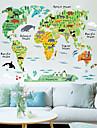 Animale Desene Animate Peisaj Perete Postituri Autocolante perete plane Autocolante de Perete Decorative Material Re-poziționabilPagina