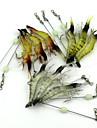 10 pcs خدع الصيد طعم صيد لين البلاستيك اللين الغرق إغراء الصيد