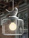 Retro Hängande lampor Till Vardagsrum Sovrum Barnrum Korridor Glödlampa inte inkluderad