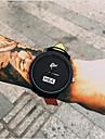 Bărbați Quartz Ceas de Mână Cool / Ceas Casual Piele Bandă Modă Negru