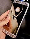 Pentru iPhone 8 iPhone 8 Plus iPhone 7 iPhone 7 Plus iPhone 6 iPhone 6 Plus Carcase Huse Stras Placare Oglindă Carcasă Spate Maska