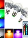 YWXLIGHT® 540 lm E14 GU10 E26/E27 B22 Bulb LED Glob A60(A19) 1 led-uri LED Putere Mare Intensitate Luminoasă Reglabilă Decorativ