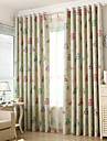 Two Panels Owl Kids  Blackout Printing Curtains Shades