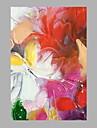iarts®oil πίνακες σύγχρονη αφηρημένη πολύχρωμα φύλλα ζωγραφισμένα στο χέρι καμβά έτοιμος να κρεμάσει