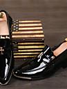 Bărbați Pantofi Piele Originală / Imitație de Piele Primăvară / Toamnă Confortabili / Pantofi formale Oxfords Negru / Galben / Rosu