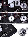 Ceas/Ceas de Mână Inspirat de Fullmetal Alchemist Edward Elric Anime Accesorii Cosplay Colier / Ceas/Ceas de Mână / inel Negru / Argintiu