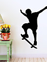 Modă / Oameni / Sporturi Perete Postituri Autocolante perete plane , Vinyl stickers 58*90cm