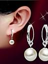 Pentru femei Cercei Picătură Perle Design Basic Pietrele Lunilor La modă stil minimalist costum de bijuterii Perle Plastic Minge Bijuterii