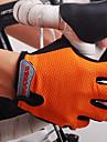 Nuckily Aktivitet/Sport Handskar Cykelhandskar Fuktgenomtränglighet Bärbar Andningsfunktion Slitsäker Uppsugande Stötsäker Fingerlösa