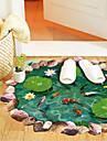 Autocollants de sol - Autocollants muraux 3D Vacances Salle de séjour / Chambre à coucher / Bureau / Bureau de maison / Amovible