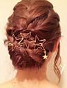 Pentru femei Mată Metalic Elegant, Alamă Aliaj Agrafe Păr