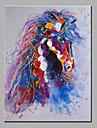 HANDMÅLAD Djur Moderna Duk Hang målad oljemålning Hem-dekoration En panel