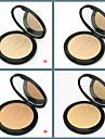 1 Poudre Sec Poudre Compact Couverture Correcteur Naturel Reserrement des Pores Visage Multicolore