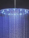 Contemporan Duș Ploaie Nichel Caracteristică for  LED Ploaie , Cap de dus