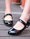 Damă Pantofi Imitație de Piele Primăvară Vară Toamnă Toc Jos Pentru Casual Negru Rosu Verde Migdală