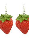 Pentru femei Resin Cercei Picătură - Reșină Căpșuni Pentru Petrecere / Zilnic
