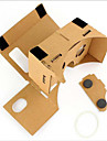 carton vr realitate virtuala ochelari furtuna oglinda DIY kit