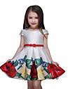 Fata lui Multi Color Floral Poliester Vară Multi Color