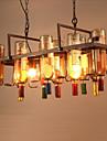2-Light Novelty Candelabre Iluminare verticală - Stil Minimalist, 110-120V / 220-240V, Alb Cald, Becul nu este inclus / 15-20㎡