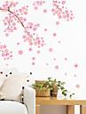 Peisaj Romantic Modă Forme Florale Transportare Fantezie Botanic Desene Animate Vacanță Perete Postituri Autocolante perete plane