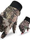 Men\'s Camo Hunting Gloves Thermal / Warm Anti-Wear Nylon for Camping / Hiking Hunting Climbing / Winter