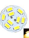 G4 Becuri LED Bi-pin Spot Încastrat 9 led-uri SMD 5730 Decorativ Alb Cald Alb Rece 100-200lm 3500/6500K DC 12 AC 12V